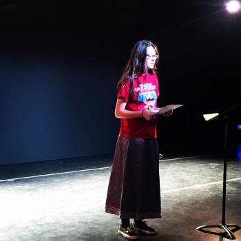 "Teanna Hart (Sicangu Lakota) reads her poem ""Visit to the Wounded Knee Massacre Site."""
